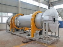City Sludge Dryer Shipped To Luoyang
