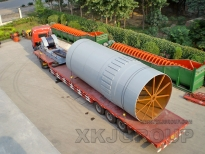 Rotary Kiln Cooler Equipment Sent To Taiwan