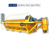 Mining filter - ceramic disk vacuum filter